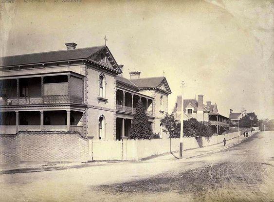 St Vincent's Hospital, Victoria Street, Darlinghurst 1887