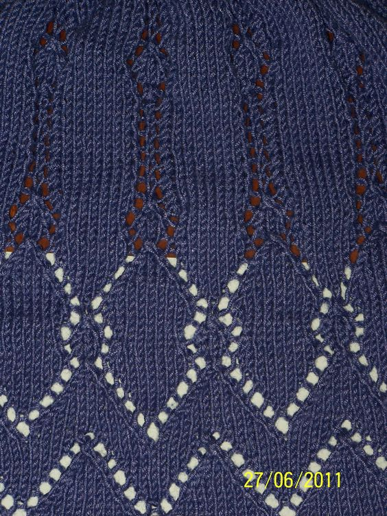 Start of a shawl - June 2011