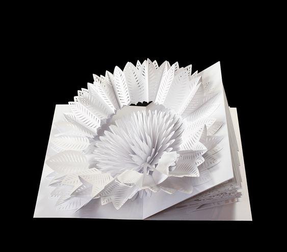 "Scale Model for Pop-Up Sculpture ""Flower/Crystal"" 2"