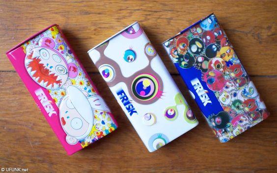 Takashi Murakami x Frisk – Une série de trois créations en édition limitée (image)