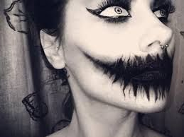 scary halloween makeup - Google Search
