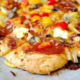 The Best Recipes of Pinterest: Gluten Free Pizza Dough