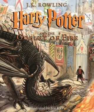 Pdf Download Harry Potter And The Goblet Of Fire The Illustrated Edition Harry Potter Illustrations Goblet Of Fire Harry Potter Goblet