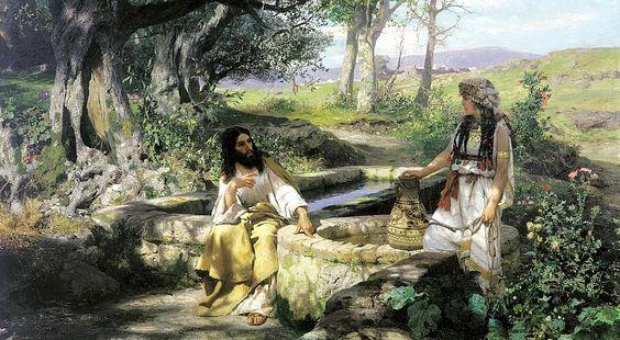 СЕМИРАДСКИЙ Генрих - Христос и самарянка