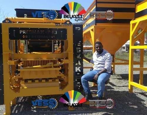 Machine Pondeuse De Parpaings Briques Paves Presmak Machine A Brique Prix Machine Parpaing Automatique Parpaing Pondeuse Bloc De Beton
