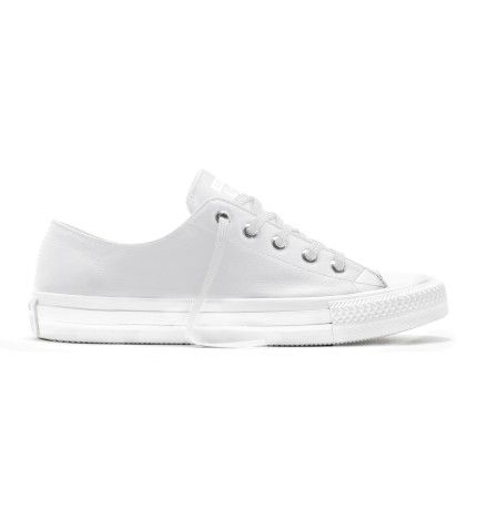 Ct Gemma Mono Lthr Low Wht/Wht Sneaker | David Jones