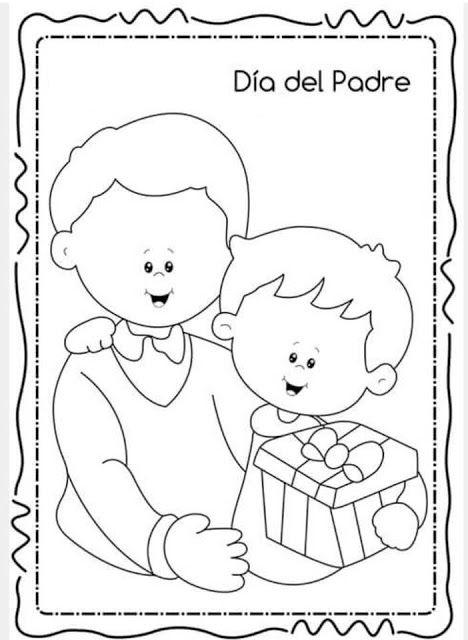 Tareitas Para Papa Dibujos Dia Del Padre Decoracion Dia Del Padre Dia Del Papa