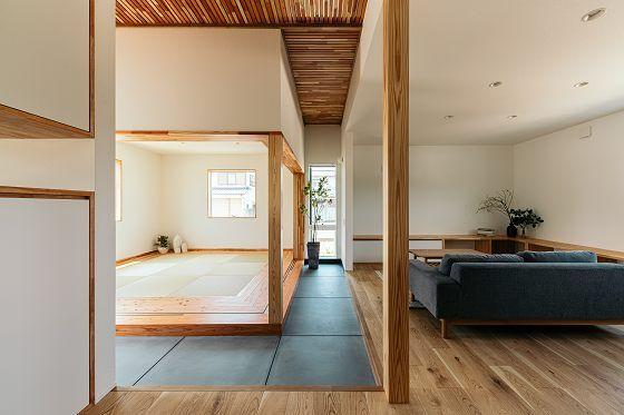 癒しと寛ぎの 離れ のある家 住宅画像が見れる事例集 福山市で