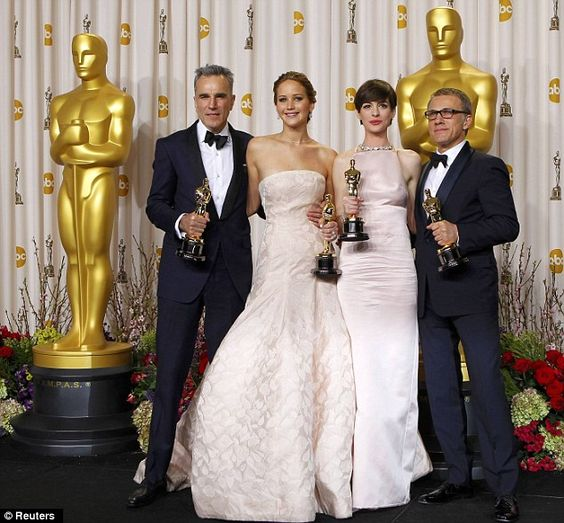 Jennifer lawrence actresses daniel o connell oscars jennifer o neill
