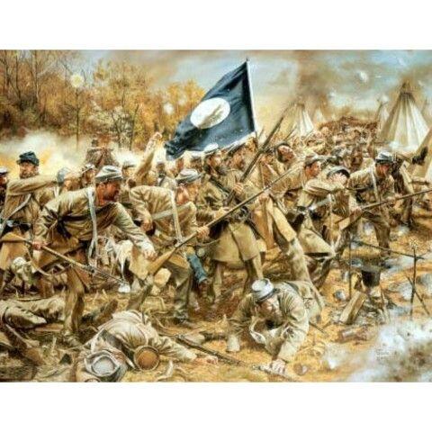 Civil War Battles Paintings
