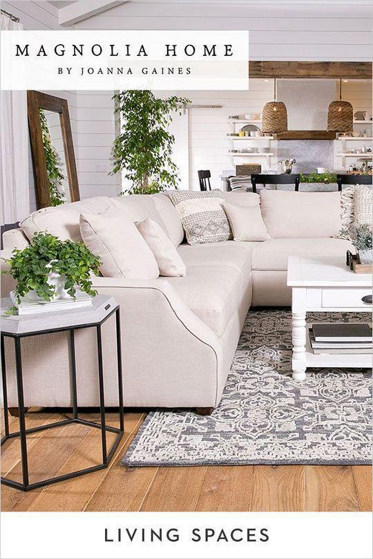 Farmhouse Living Room Joanna Gaines