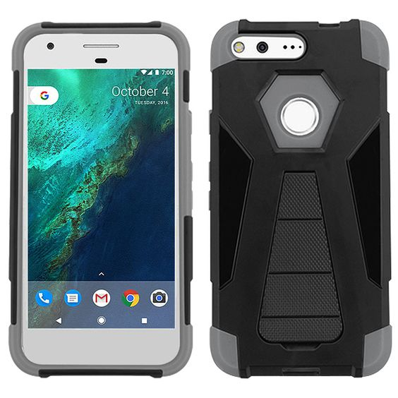 ZIZO Inverse Kickstand Google Pixel Case - Gray