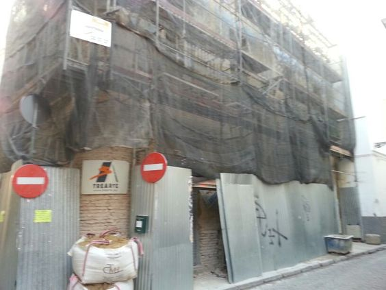 """Restauración y rehabilitación de todo un edificio en la calle Guzmán """"El Bueno"""", Sevilla"""
