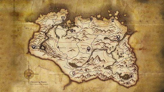 Geoficção: Arte de imaginar e criar lugares fictícios.