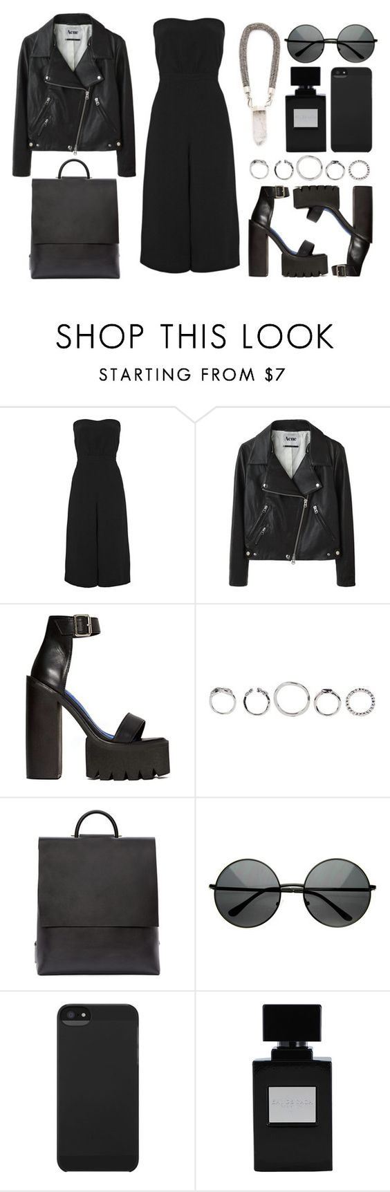 """(J) - Jumpsuits"" by eva-jez ❤ liked on Polyvore featuring мода, Elizabeth and James, Acne Studios, Jeffrey Campbell, Building Block и Incase"