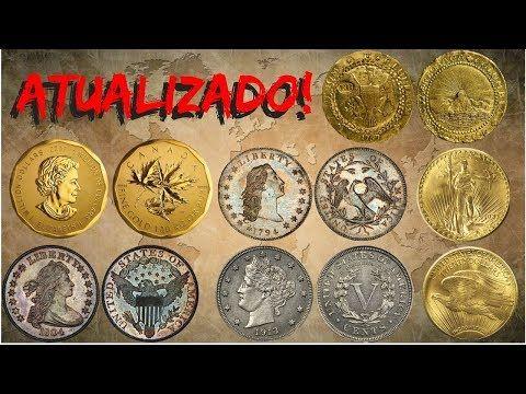 10 Moedas Mais Caras Do Mundo Valores Atualizados Numismatica