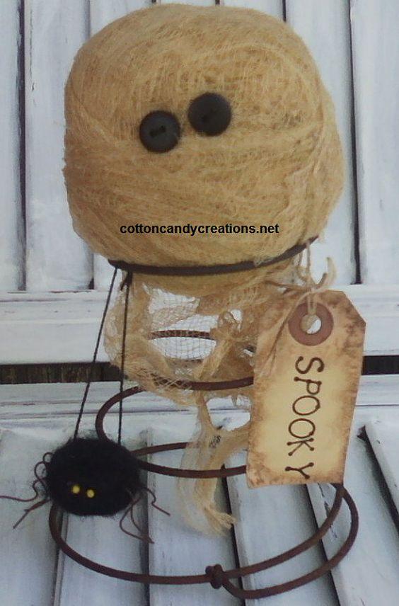 Mummy Nodder  Primitive Fall Decor  Primitive by CCCPrimitives, $22.00