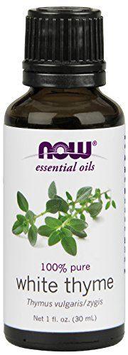100% PureThymus vulgaris/zygis Ingredients: 100% pure white thyme oilAroma: Pleasant pungentBenefits: Uplifting empowering clarifyingAbout Thyme Oil...