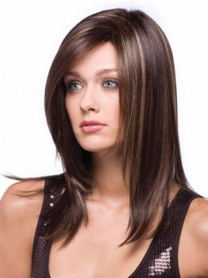 Remarkable Medium Length Hairs Colors And Fashion Beauty On Pinterest Short Hairstyles Gunalazisus