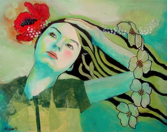 Mixed Media on canvas by Donna Holdsworth