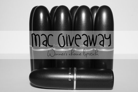 Let's Talk About... Beauty: GIVEAWAY | Batom MAC à vossa escolha