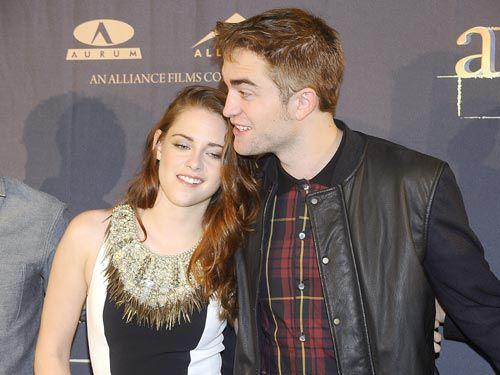 Robert Pattinson se declara a Kristen Stewart en Madrid: 'Bella es fantástica en la película y en la vida real también' #actores #people #celebrities #twilight #famosos