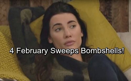 The Bold And The Beautiful Spoilers 4 B B February Sweeps Bombshells That Shake Things Up Bold And The Beautiful Soap News Bombshells