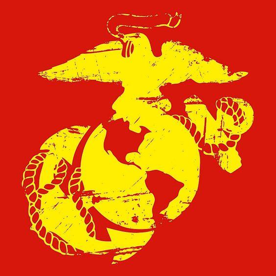 "USMC Decal - 3"" x 3"""