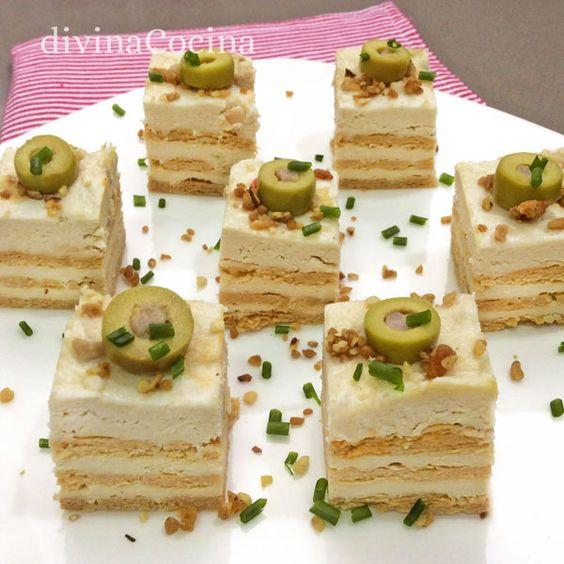 Estos canap s f ciles con pan de molde se pueden preparar for Canapes faciles y ricos