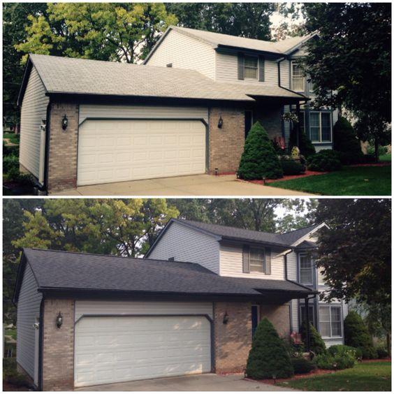 Best New Certainteed Landmark Moire Black Shingles Roof 400 x 300
