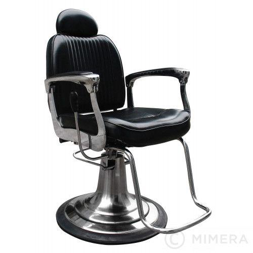 Barber Stuhl Arman Glanzend Schwarz Stuhle Schwarz Modernes Design
