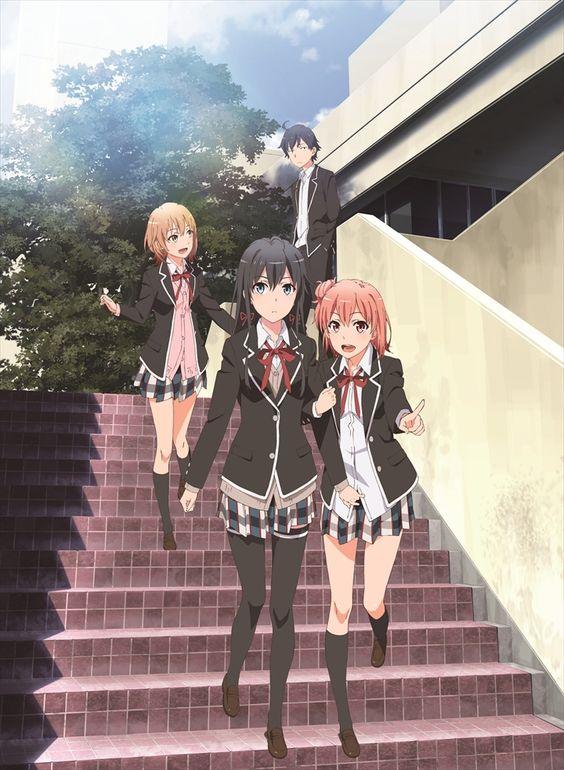 階段を降りる画像