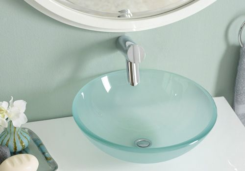 The Best Kitchen And Bathroom Sink Material Options Sink Glass
