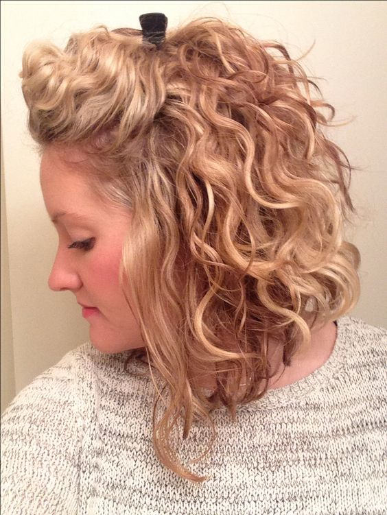 Hairstyles To Try My Morning Hair Routine Is SO Much Easier And Faster Loving This Short Curly Style