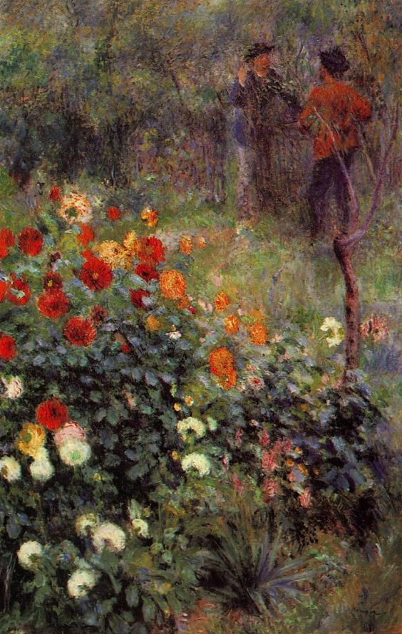 Renoir pierre auguste renoir and jardins on pinterest for Le jardin de montmartre