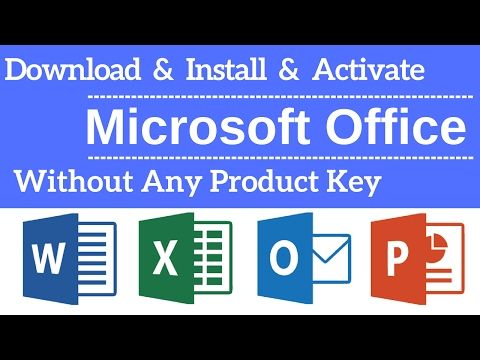 How To Download Install Activate Microsoft Office Any Version Without Product Key Youtube Microsoft Office Microsoft Office Free Microsoft Word Free