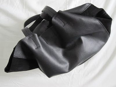 zara basic leather tote
