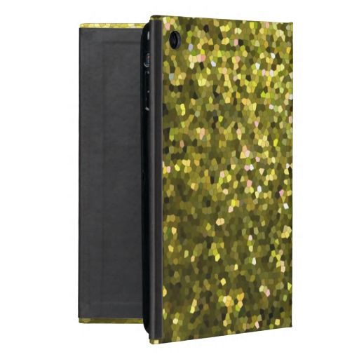 Powis iCase iPad Mini Case Gold Mosaic Sparkley #Zazzle #Powis #iCase #iPad #Mini #Case #Gold #Mosaic #Sparkley #glamour #crystals #fashion http://www.zazzle.com/powis_icase_ipad_mini_case_gold_mosaic_sparkley-256248835741109034
