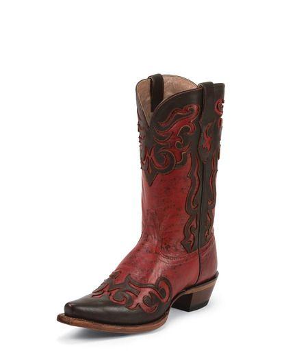 Women's Red Sandora Boot