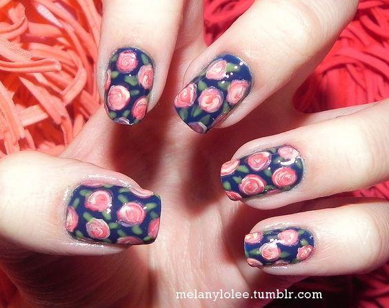 Gorgeous nail design