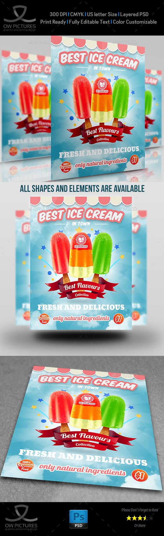 ice cream flyer template vol flyer template flyers and templates ice cream flyer template vol 5 flyers print template psd here graphicriver net item ice cream flyer template vol5 16557754 ref yinkira