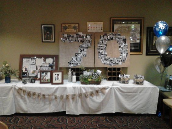 Paint we and the o 39 jays on pinterest for 70th birthday party decoration ideas