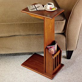Magazine Snack Table, End Table, Side Table   Solutions