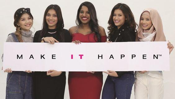 sunshinekelly.com | Beauty . Fashion . Lifestyle : Malaysian Girls 'Make It Happen'