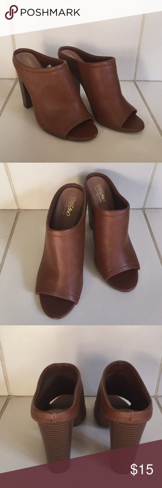 Mossimo Heels Super comfy and cute with jeans and dresses! Worn a handful of times! Mossimo Supply Co. Shoes