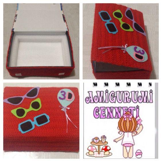Kutu yenileme  Geri dönüşüm Amigurumibox