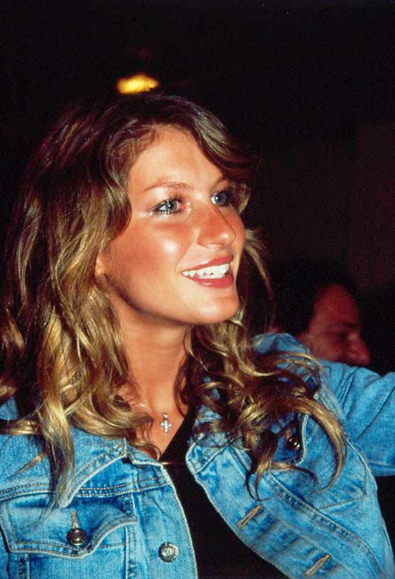 """Gisele Bündchen at 20: """"I think guys like me because they like girls in lingerie. They like any girl in lingerie."""""""