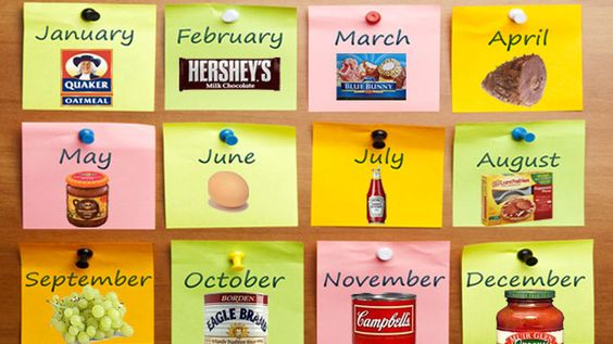 A Month-by-Month Guide to Grocery Sales