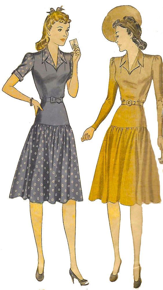 Pin On Women S 1940 S Sewing Patterns