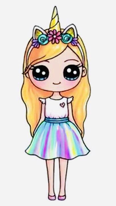 Pin By Sofia Barron On Cute Clipart Cute Kawaii Drawings Kawaii Girl Drawings Cute Drawing Images